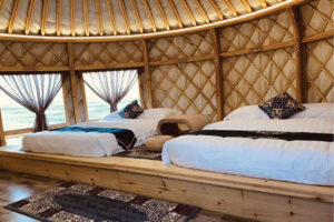 L Series Yurt interior