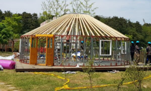 Steel and Wooden Yurts